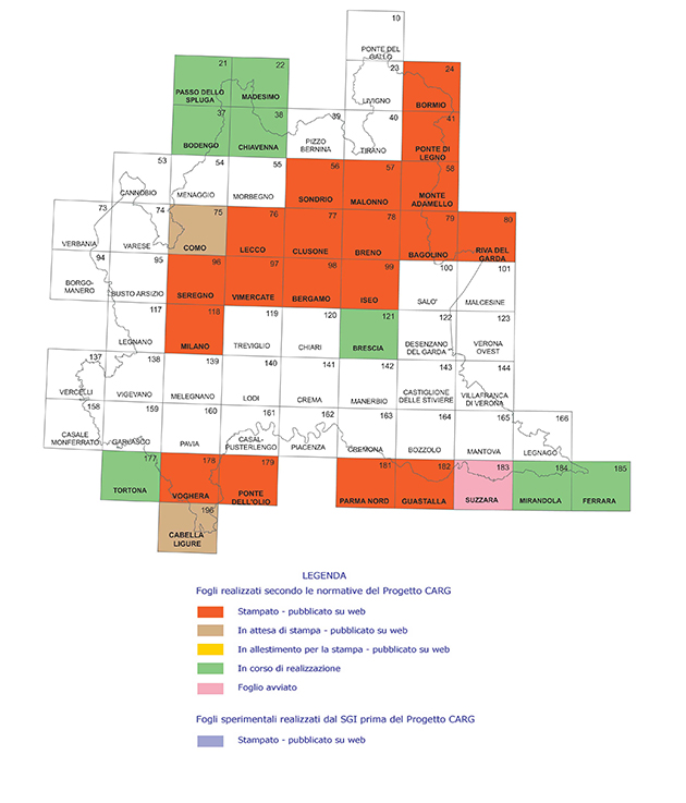 carte geologiche ispra