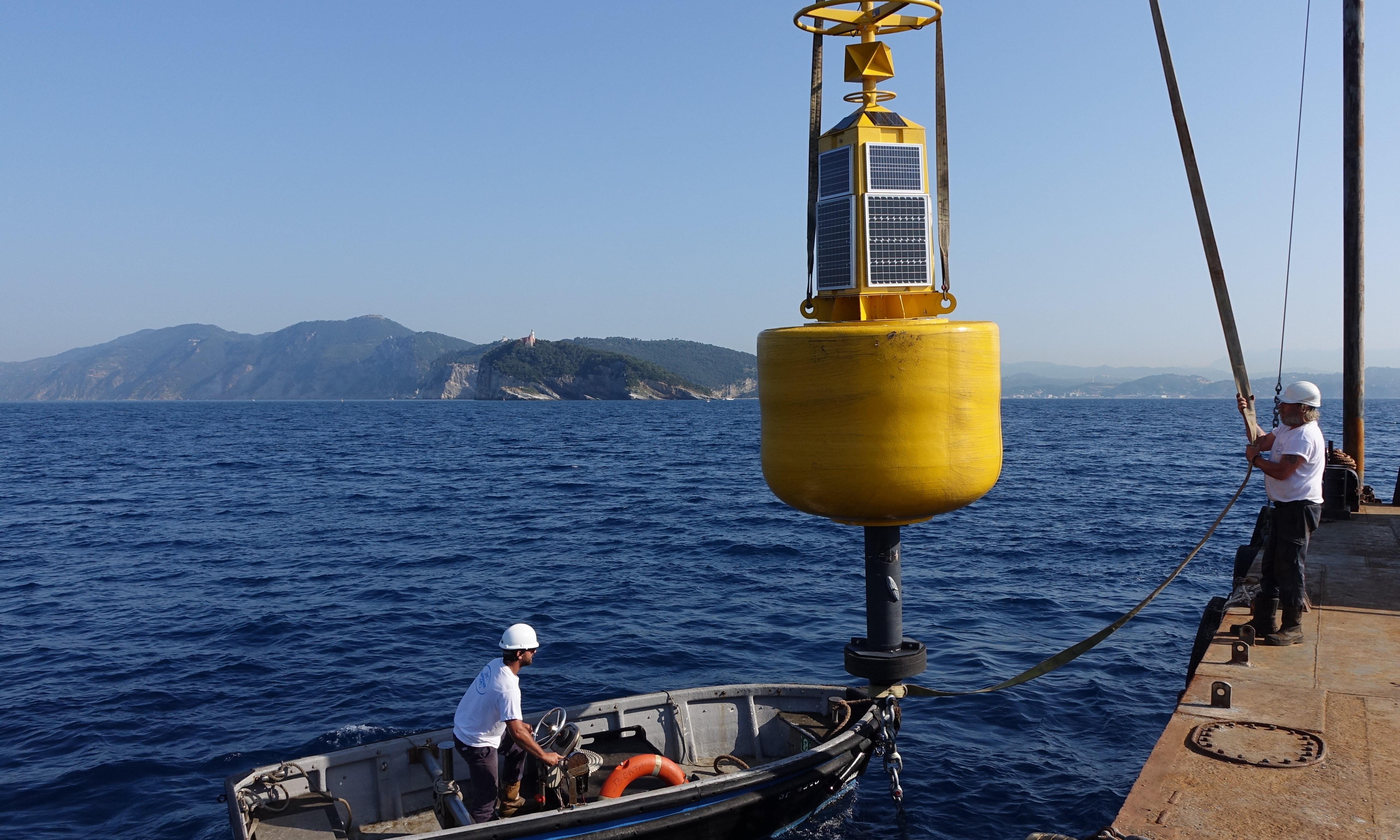 a gps buoy to identify tsunamis