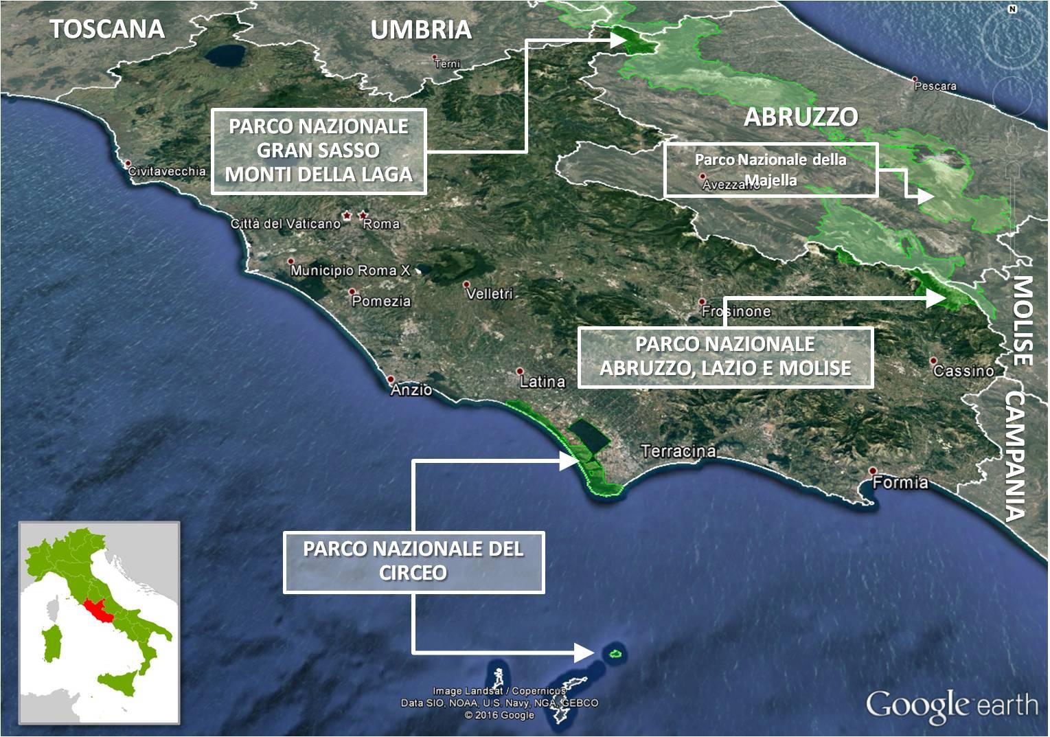 Regione Lazio — Italiano