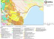 Carta prodotta dal Servizio Geologico Nazionale