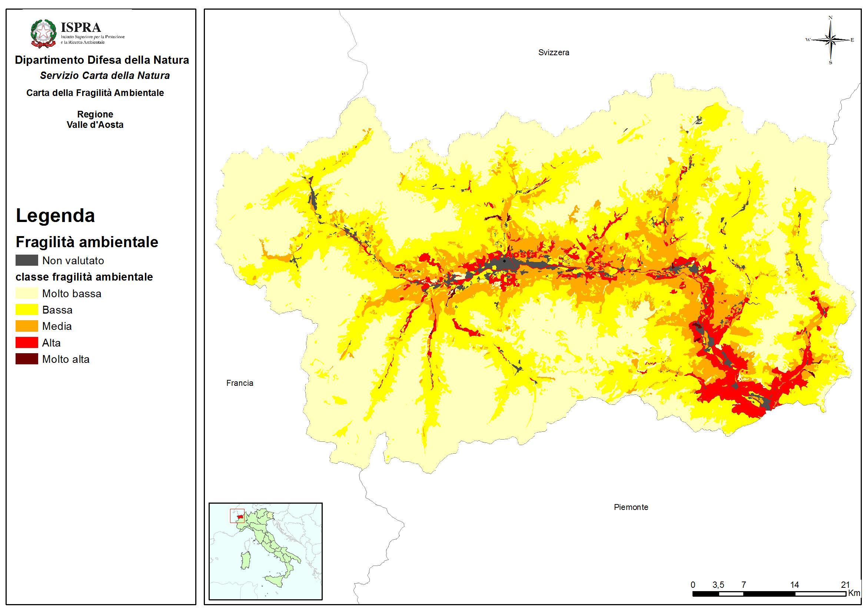 Valle D Aosta Cartina Tematica.Valle D Aosta Italiano